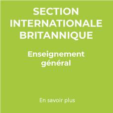 section internationale britaninque