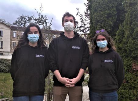 Aurore, Gabriel et Maylis : éco-délégués à Notre-Dame du Grandchamp