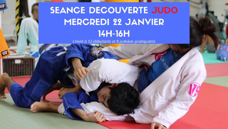 Seance decouverte Judo