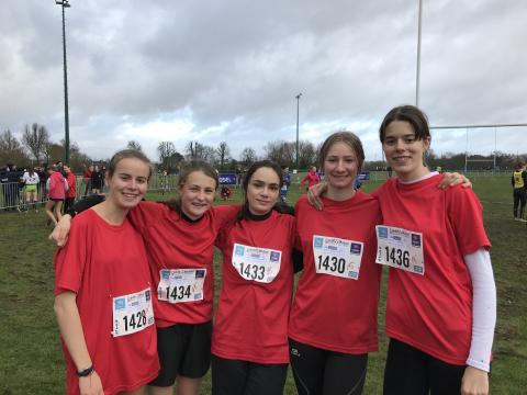 L'équipe des filles