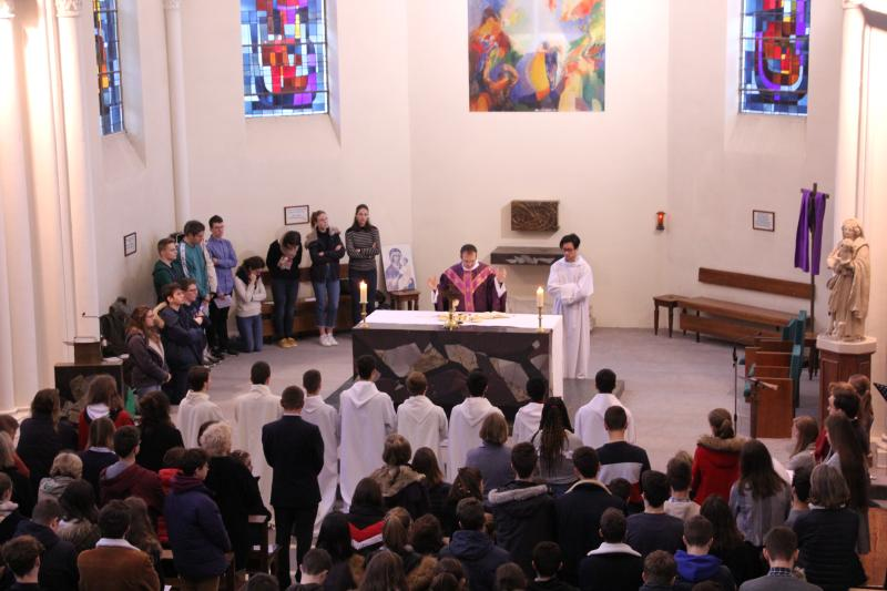 Messe des Cendres 2020 à la chapelle de Notre-Dame du Grandchamp