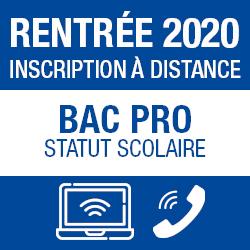 inscription bacpro