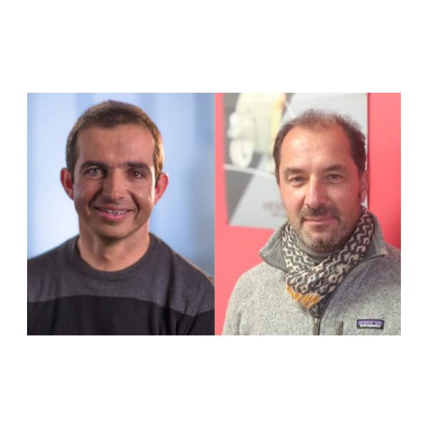Jean-Philippe Morand et Cyril Bosio