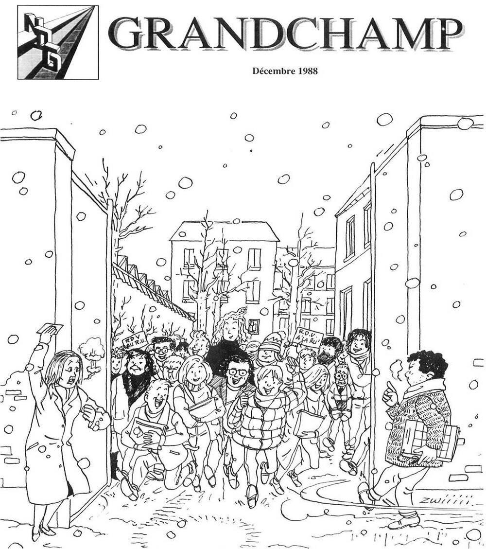[Photo] Une journal de Grandchamp - 1988 - sortie du 22